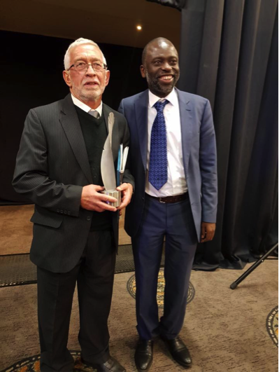 Read more about the article PROF NIC BEUKES WINS THE PRESTIGIOUS NATIONAL SCIENCE AND TECHNOLOGY FORUM LIFETIME ACHIEVEMENT AWARD